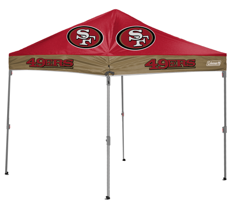 NFL San Francisco 49ers 10x10 Shelter