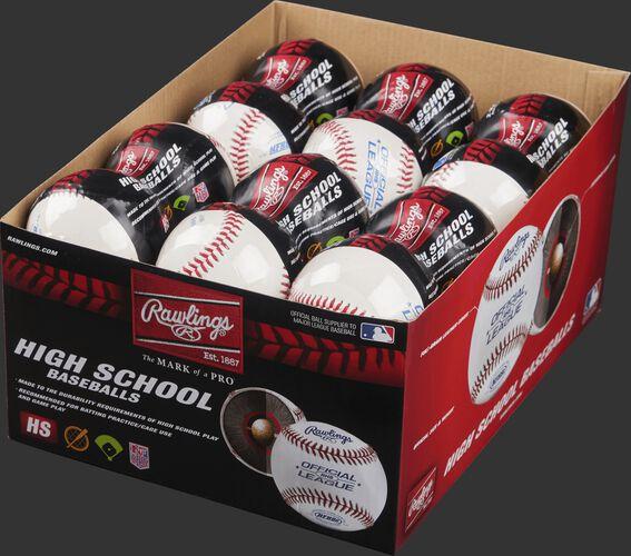 24 Pack NFHS® High School Baseballs
