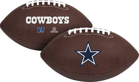 NFL Dallas Cowboys Air-It-Out youth football with team logo