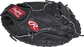 Thumb view of a PROSP13B Heart of the Hide 32.5-inch catcher's mitt with a black one-piece solid web image number null