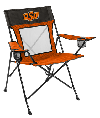 NCAA Oklahoma State Cowboys Game Changer chair with the team logo