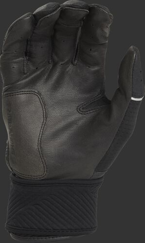 Black palm of a WHCSBG adulte Workhorse batting glove