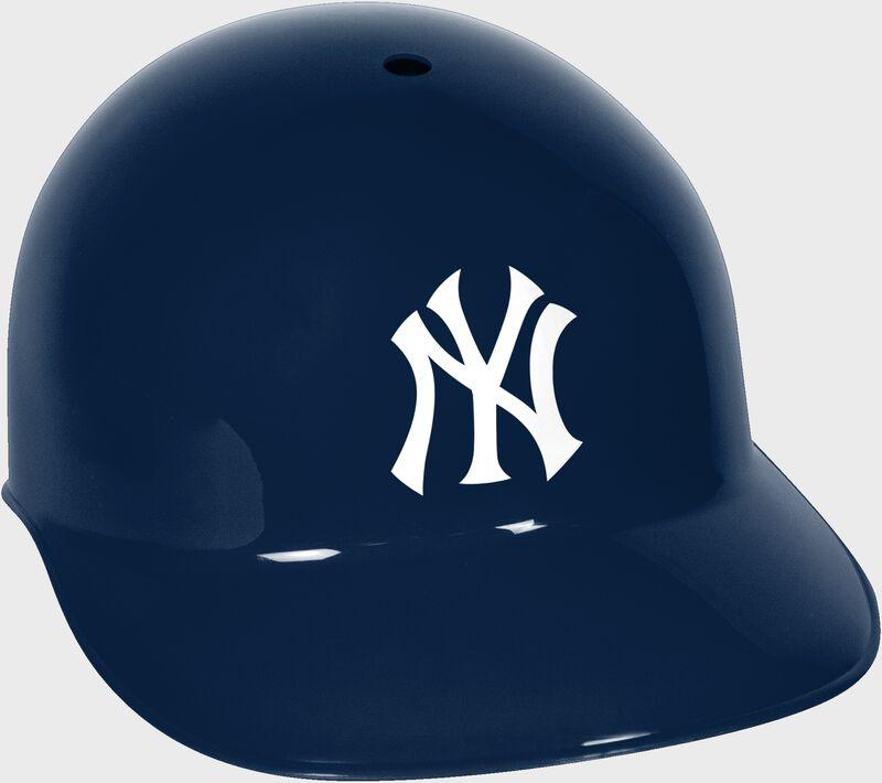 A navy MLB New York Yankees replica helmet - SKU: 01950030111