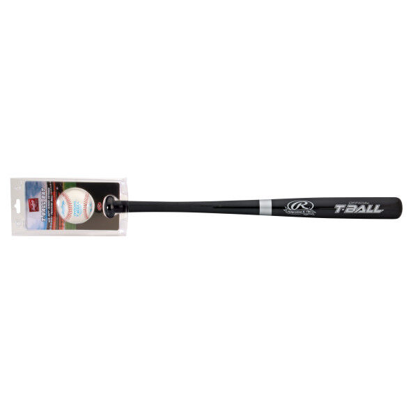 T-Ball Wood Bat with Training Ball