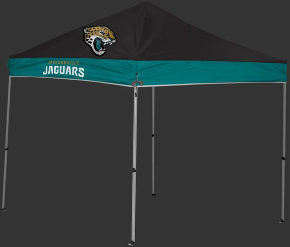 Rawlings Teal and Black NFL Jacksonville Jaguars 9x9 Canopy Shelter With Team Logo and Name SKU #03231091111