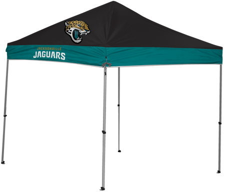 NFL Jacksonville Jaguars 9x9 shelter with 4 team logos