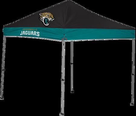 NFL Jacksonville Jaguars 9x9 shelter with 4 team logos