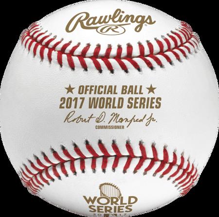 Dozen MLB 2017 World Series Baseballs