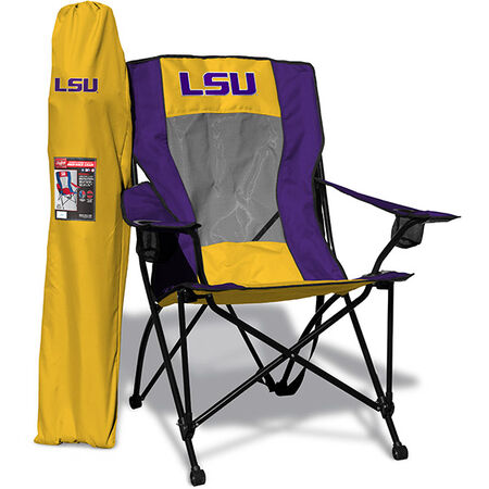 NCAA LSU Tigers High Back Chair