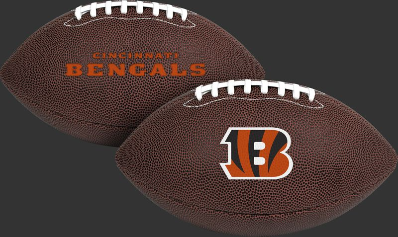 NFL Cincinnati Bengals Air-It-Out youth football with team logo and team name SKU #08041063121