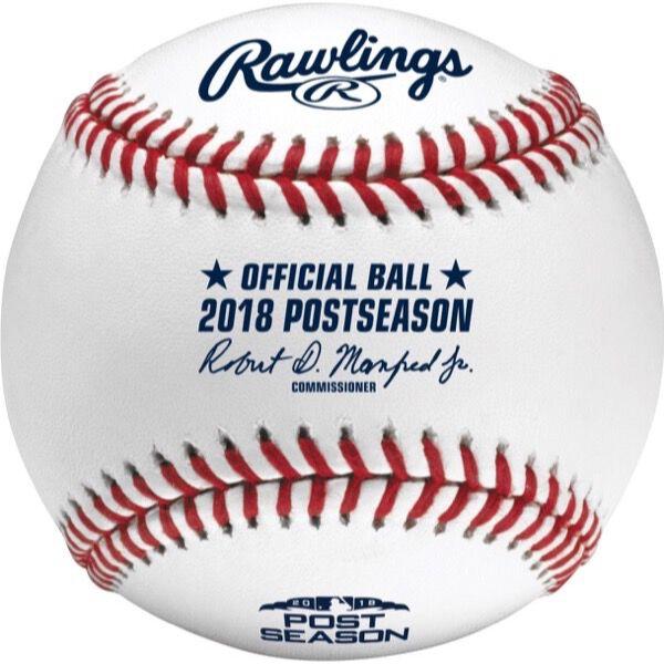 MLB 2018 Post Season Baseball