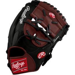 White/Maroon Custom Glove