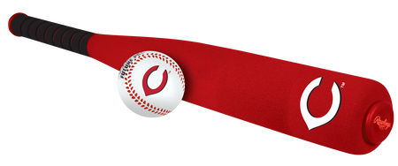 MLB Cincinnati Reds Foam Bat and Ball Set