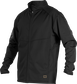 A black Gold Collection mid weight jacket with long sleeves and full zip - SKU: GCMW2-B image number null