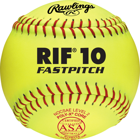 "ASA RIF Official 12"" Softballs"