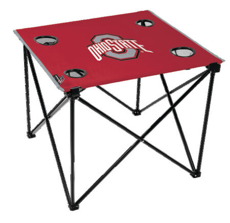 NCAA Ohio State Buckeyes Deluxe Tailgate Table