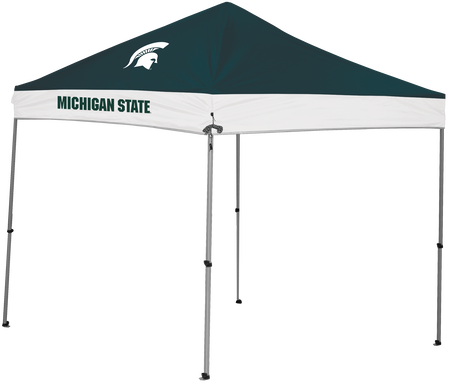 NCAA Michigan State Spartans 9x9 Shelter featuring the team logo on top