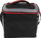 Back of a black Rawlings 24 can cooler with a black handle on top - SKU: 10224043511 image number null