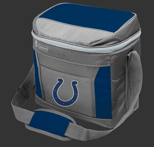 Rawlings Indianapolis Colts 16 Can Cooler In Team Colors With Team Logo On Front SKU #03291070111