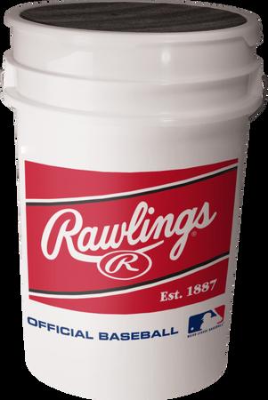 MLB Baseball 6-Gallon Bucket (6 Pack - NO LIDS)