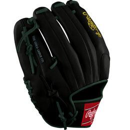Green/Gold Custom Glove