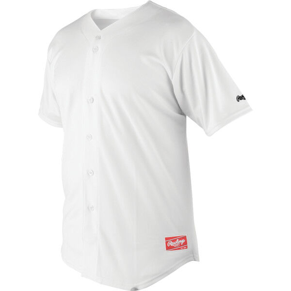 Adult Short Sleeve Jersey White