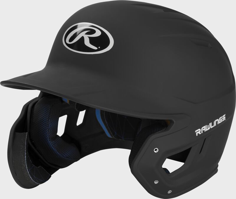 Mach Left Handed Batting Helmet with EXT Flap   1-Tone & 2-Tone