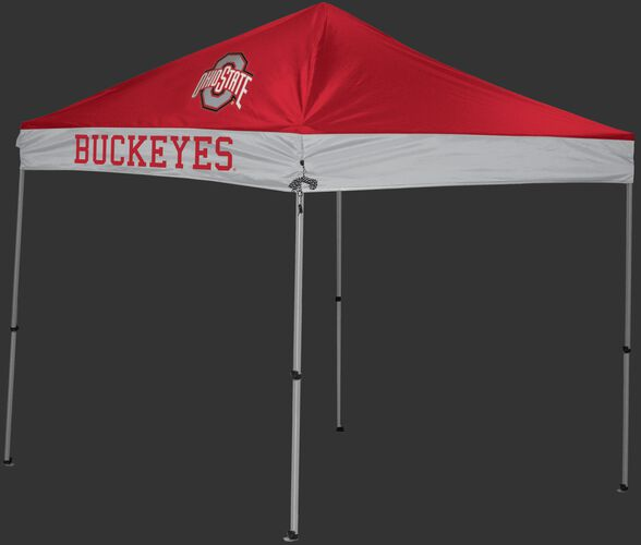Rawlings Scarlet and Grey NCAA Ohio State Buckeyes 9x9 Canopy Shelter With Team Logo and Name SKU #04033042111