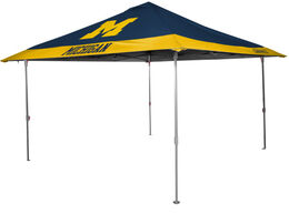 NCAA Michigan Wolverines 10x10 Eaved Canopy