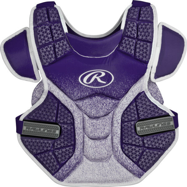 Velo Adult Softball Chest Protector Purple