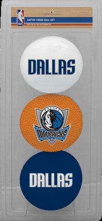 NBA Dallas Mavericks Three-Point Softee Basketball Set