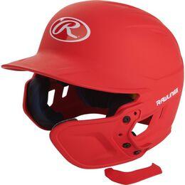 Mach EXT Batting Helmet Extension For Left-Handed Batter Scarlet