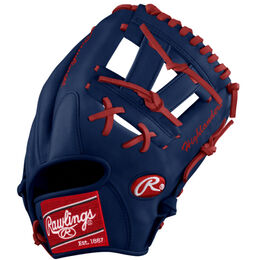 White/Red Custom Glove