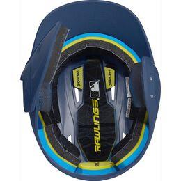 Mach Senior One-Tone Matte Helmet with EXT Flap Navy