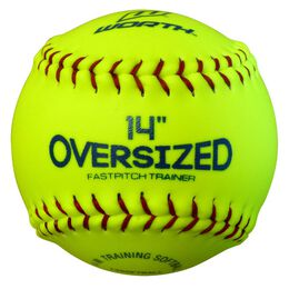 "Oversized 14"" Pitcher's Training Softball"