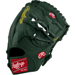 Grey/Green/Gold Custom Glove