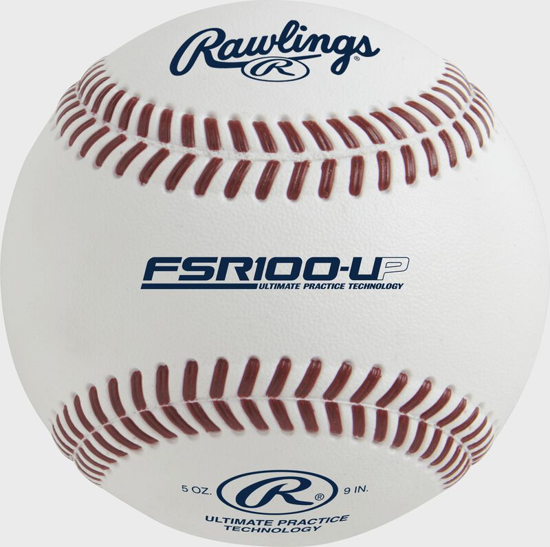 FSR100-UP Ultimate Practice Technology collegiate flat seam baseball