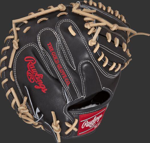 PROSCM33B 33-inch Pro Preferred catcher's mitt with a black kip leather back