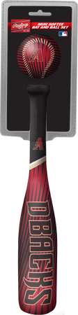 MLB Arizona Diamondbacks Slugger Softee Mini Bat and Ball Set