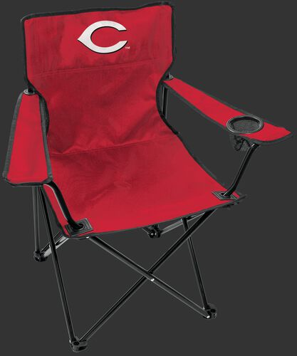 Front of Rawlings Red MLB Cincinnati Reds Gameday Elite Chair With Team Logo SKU #06110023111