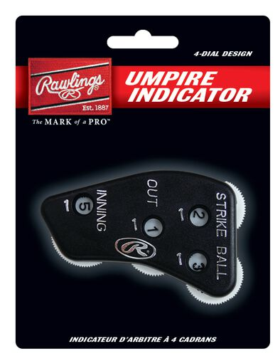 Rawlings Black Umpire Indicator With Brand Logo SKU #4IN1