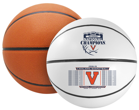 2019 NCAA National Champions Virginia Cavaliers Full Size Basketball