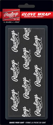 Rawlings Black Glove Wrap With Brand Name SKU #GW