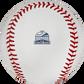 The Texas Rangers inaugural season at Glove Life Field logo stamped on a MLB baseball - SKU: ROMLBTRIN20 image number null
