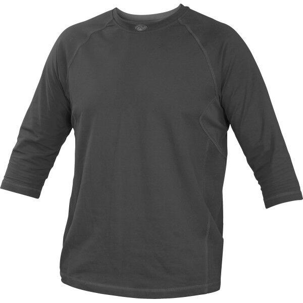 Adult 3/4 Length Sleeve Shirt Graphite