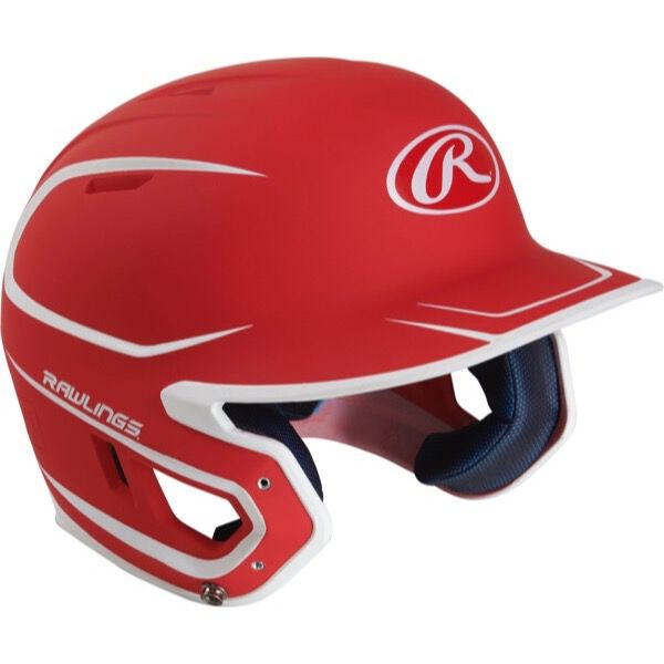 Mach Junior Two-Tone Matte Helmet Scarlet