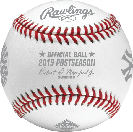 MLB 2019 American League Championship Series Dueling Baseball