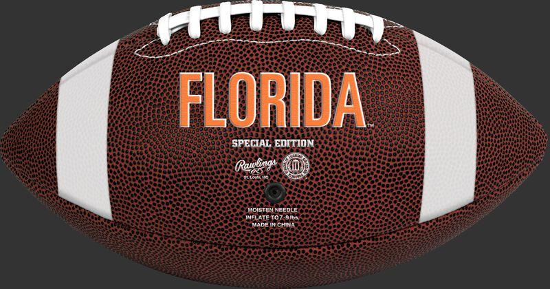 Brown NCAA Florida Gators Football With Team Name SKU #04623022811