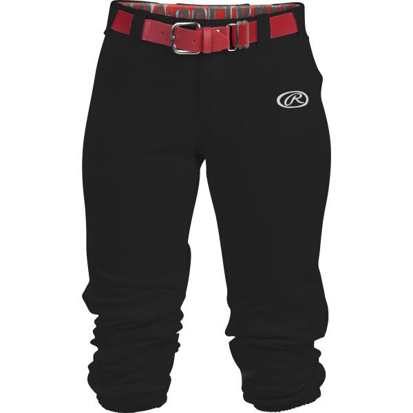 Women's Low-Rise Softball Pant Black
