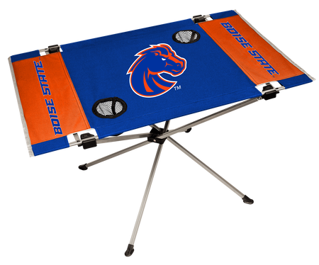 NCAA Boise State Broncos Endzone table featuring team colors and team logos